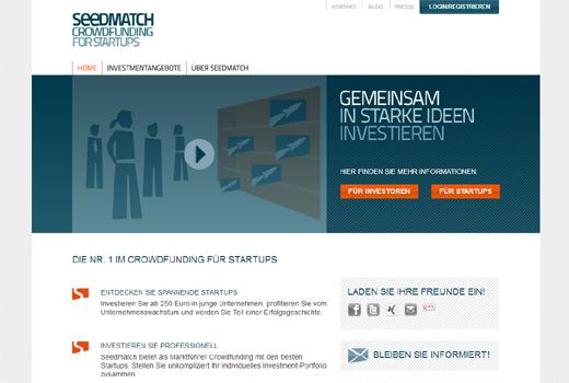 Kurzmitteilungen: Seedmatch, Anti-Angel-Gesetz, Shopaman, eDarling, Fahrschule-123.de