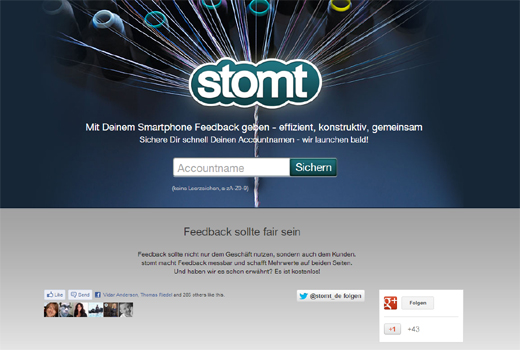 Start-up-Radar: stomt