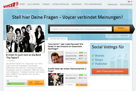 4 neue Deals: Voycer, stuffle.it, TopTarif, Finanzchef24