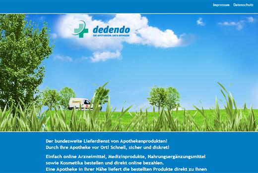 Dedendo bringt sich als Apotheken-Lieferdienst ins Spiel – SevenVentures und Creathor Venture sind bereits an Bord