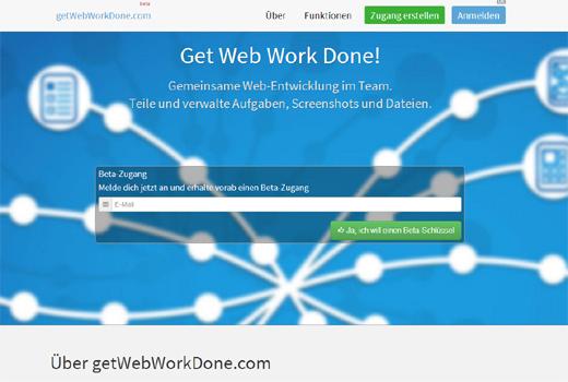 Start-up-Radar: getWebWorkDone.com