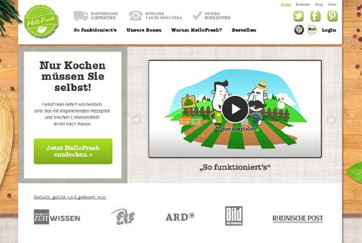 6 neue Deals: HelloFresh, Wohnen-im-Alter.de, WeeYoo, figo, dafiti, Mebelrama