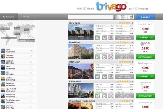 Expedia steigt bei trivago ein und zahlt für 61,6 % stolze 477 Millionen Euro