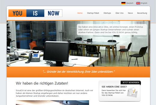 Kurzmitteilungen: You is now, Partech, 1stMover, RankSider, Webfuture Award 2013