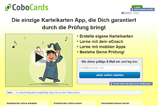 Kurzmitteilungen: CoboCards, Start-up Safary, Leuphana Business Accelerator
