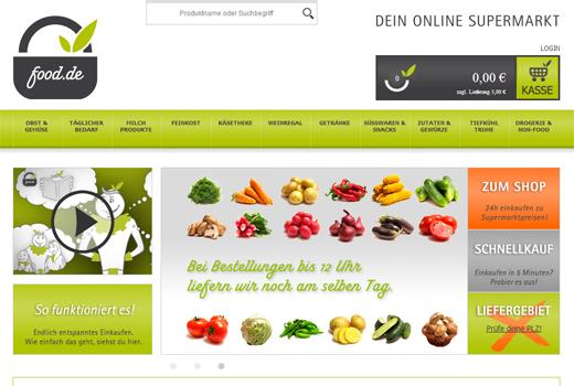 food.de gewinnt IBB Bet und Olini als Investoren