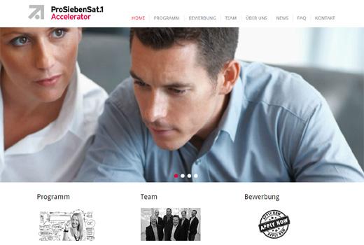 ProSiebenSat.1 startet Accelerator-Programm