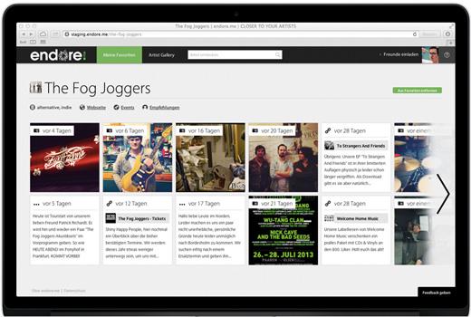 endore.me bringt Fans und Künstler zusammen – Ex-Simfy-Duo startet neu durch