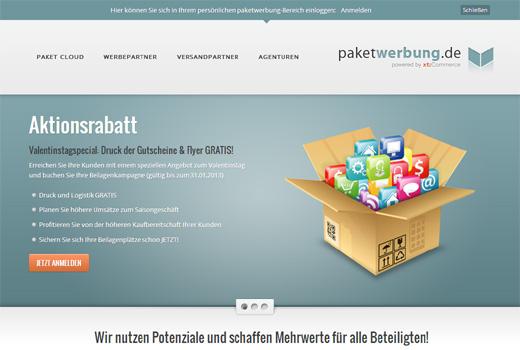 5 neue Deals: paketwerbung.de, markt.gruppe, Cliffhanger Games, Klash, Linio