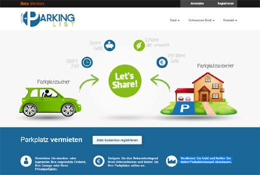 Start-up-Radar: ParkingList