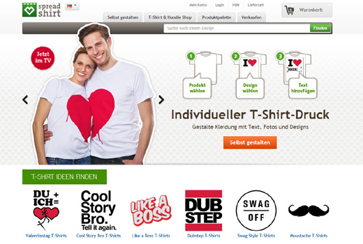 Kurzmitteilungen: Spreadshirt, avandeo, Uniturm, webinale