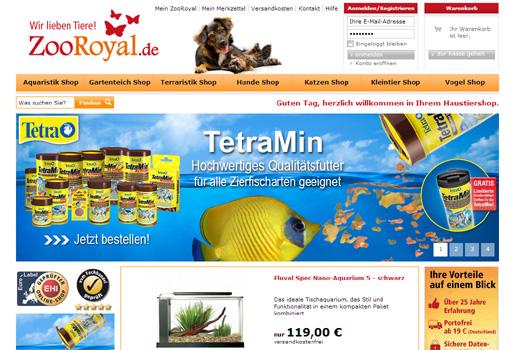 3 neue Deals: ZooRoyal.de, stylemarks, milabent