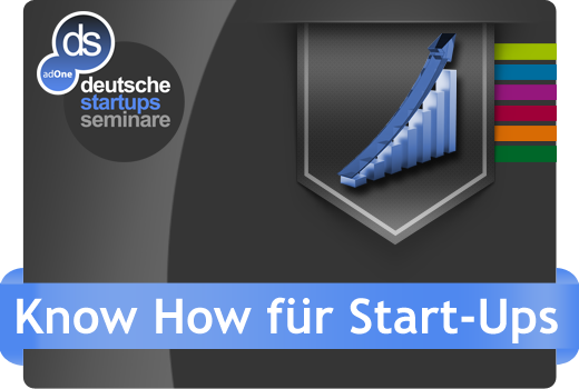 Neu bei ds: Know-How für Start-ups – Seminare für Start-ups