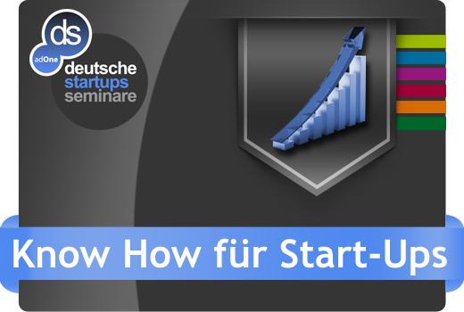 deutsche-startups Seminare bietet ab sofort Know-How für Start-ups