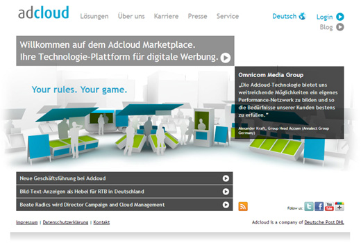 Kurzmitteilungen: Adcloud, Digital Pioneers, Spontacts, Rankseller, m2p Games