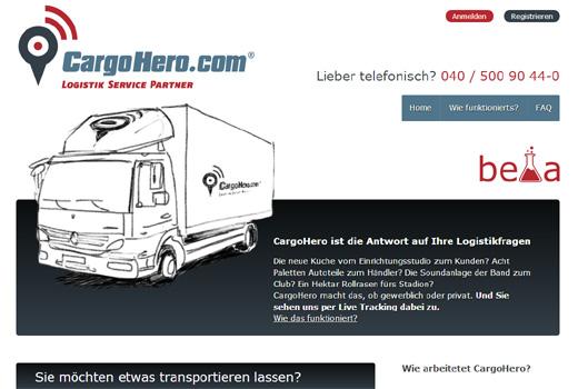 5 neue Start-ups: CargoHero, Schmuckladen.de, Kleiderkorb, Blinkar.de, TerminRetter.de