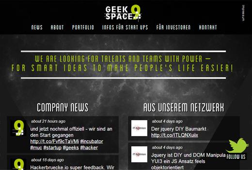 Mit Geek Space 9 spendieren die IT:Agenten München einen neuen Inkubator für Geeks