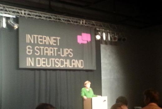 """""""Ich will noch nicht Freunde sagen"""" – Bundeskanzlerin Angela Merkel im Start-up-Land"""