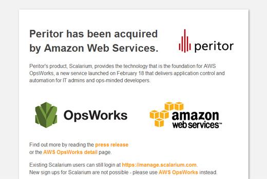 Amazon Web Services übernimmt Berliner Start-up peritor – Aus Scalarium wird AWS Opsworks