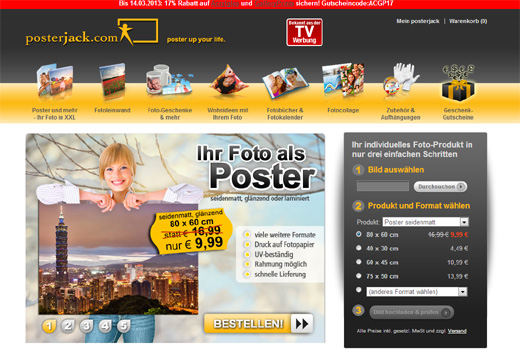 5 neue Deals: posterjack, clipkit, mention.net, Muchasa, 1stMover