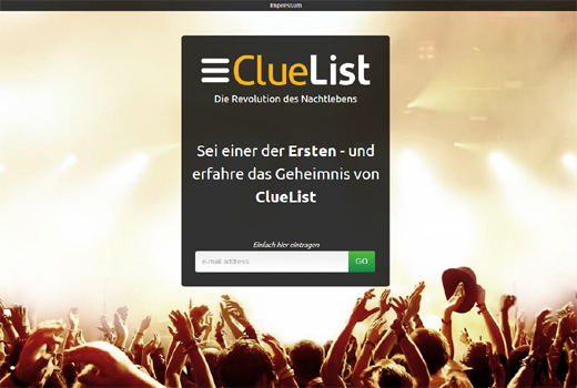 Start-up-Radar: ClueList