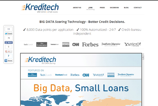 Samwer-Fonds Global Founders Capital investiert in Kreditech