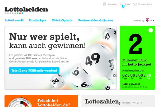T-Venture und Tipp24-Gründer investieren in Lottohelden