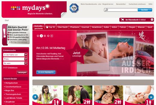 4 neue Deals: mydays, imedo, KüchenQuelle, Capnamic Ventures