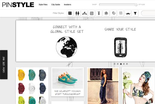 Pinstyle: Aus dem Fashionistas-Pinterest wird eine bildbasierte Shoppingplattform