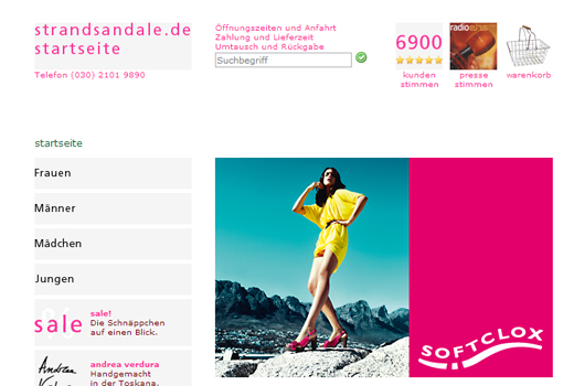 4 neue Deals: strandsandale.de, six groups, Echobot, European Games Group