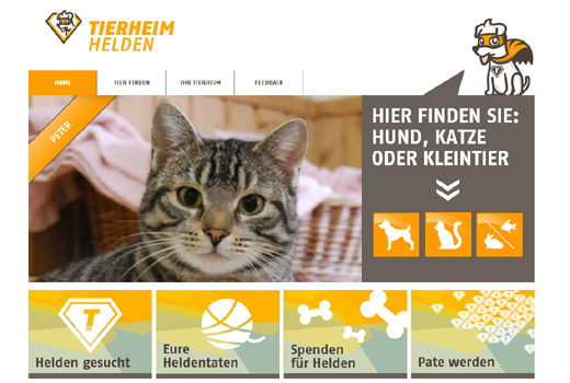 5 neue Start-ups: Tierheimhelden, Band-box, Dongoo, date4sports, Sense