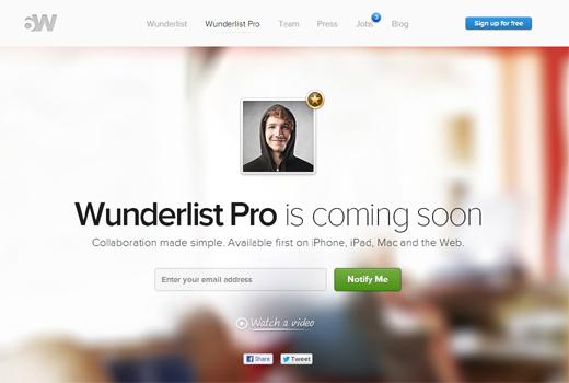 Kurzmitteilungen: Wunderlist Pro, Nonabox, LineMetrics, Fettspielen.de, RankSider