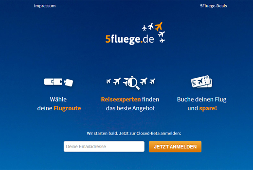 Start-up-Radar: 5fluege.de
