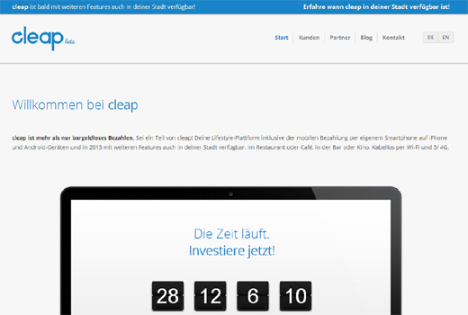 Kurzmitteilungen: Cleap, BuddyBeers, Netdoktor, classmarkets, hy! Berlin