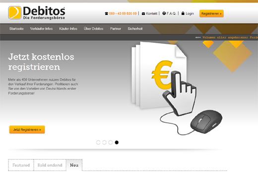 Kurzmitteilungen: Debitos, Hasso Plattner Ventures, i5invest, Gutschein.ch