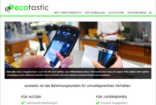 5 neue Start-ups: Ecotastic, Fashiola, Ezebee, Beatguide, Faibl