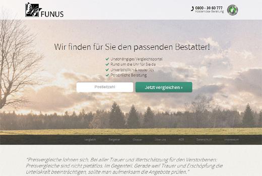 Funus vergleicht Bestatter – M Cube-Ableger startet endlich
