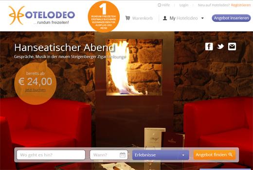 Kurzmitteilungen: Hotelodeo, Handelsdeal, eDarling, amiando