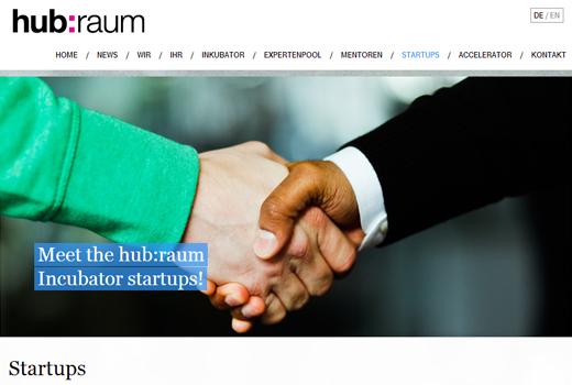 hub:raum: Diese 5 Start-ups unterstützt der Telekom-Inkubator bisher