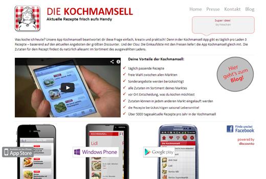 5 neue Start-ups: Kochmamsell, Biodukte, Reportagen.de, PremioCent, Primdo