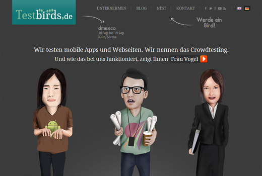 Kurzmitteilungen: Testbirds, Qeep, media.net:catapult