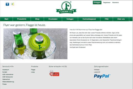 5 neue Start-ups: Flaschenflagge, Hålvtone, Eventsta, Pic-Sharing und shoutr.net