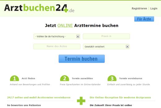 MediNavi-Tochter Arztbuchen24 greift Arzttermine.de und Co. an