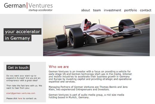 Accelerator German Ventures unterstützt zum Start iPAYst, Kwizzer und wehostels