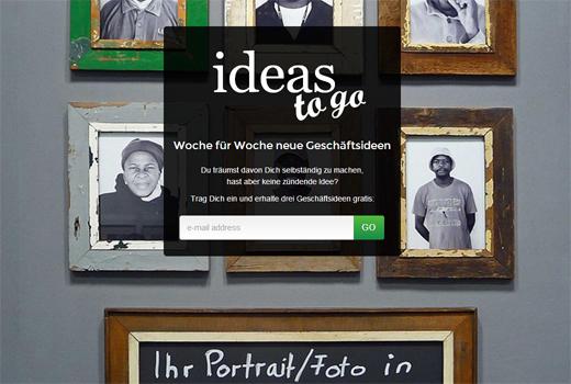 Start-up-Radar: ideas to go