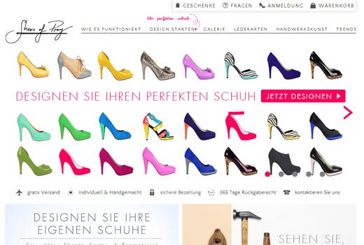 5 neue Start-ups: Shoes of Prey, babykann.de, von Jungfeld, Möbelisten, Eveningo