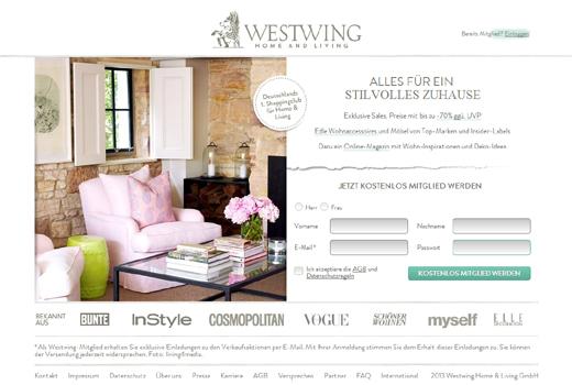 Kurzmitteilungen: Westwing, PaperC, Addact