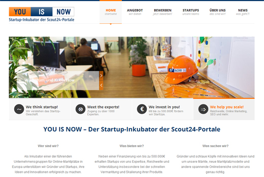 MeineLocation, Warmmiete24 und CleanBerlin ziehen in den neuen You is now-Accelerator