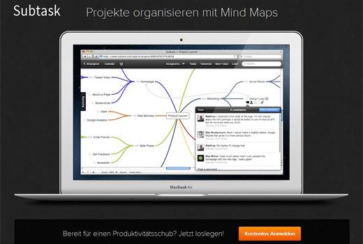 Subtask: Mindmap meets Aufgabenplanung