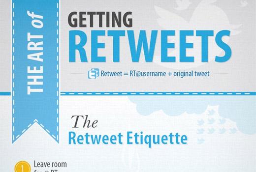 Mehr Retweets bei Twitter: Tipps und Überraschungen in einer Infografik